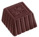 Chocolate World CW1059 Chocolate mould square star