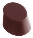 Chocolate World CW1074 Chocolate mould oval smooth