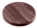 Chocolate World CW1076 Chocolate mould florentine Ø 59 mm