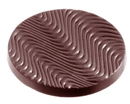Chocolate World CW1077 Chocolate mould florentine Ø 49 mm