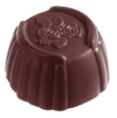 Chocolate World CW1086 Chocolate mould cuvette rose