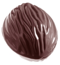 Chocolate World CW1093 Chocolate mould nut double