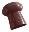 Chocolate World CW1103 Chocolate mould champagne cork