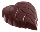 Chocolate World CW1104 Chocolate mould leafheart