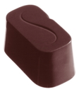 Chocolate World CW1112 Chocolate mould decor S