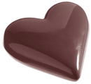 Chocolate World CW1145 Chocolate mould heart 65 mm