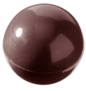 Chocolate World CW1158 Chocolate mould half sphere Ø 25 mm