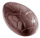 Chocolate World CW1162 Chocolate mould egg kroko 80 mm