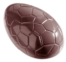 Chocolate World CW1163 Chocolate mould egg kroko 88 mm