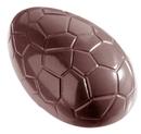 Chocolate World CW1163 Chocolate mould egg kroko 88 mm