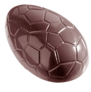 Chocolate World CW1164 Chocolate mould egg kroko 96 mm