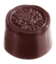 Chocolate World CW1166 Chocolate mould grand marnier round