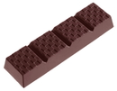 Chocolate World CW1187 Chocolate mould bar block