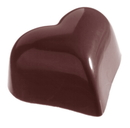 Chocolate World CW1218 Chocolate mould small puffy heart 14 gr