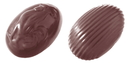 Chocolate World CW1232 Chocolate mould small egg 5 gr 2 fig.