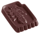 Chocolate World CW1238 Chocolate mould ship caraque