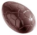 Chocolate World CW1242 Chocolate mould egg kroko 117 mm