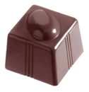 Chocolate World CW1247 Chocolate mould cube coffee bean 21 gr