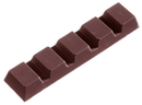 Chocolate World CW1256 Chocolate mould bar lined