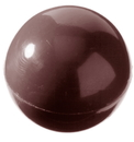 Chocolate World CW1258 Chocolate mould half sphere Ø 27 mm