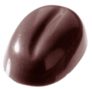 Chocolate World CW1281 Chocolate mould coffee bean 1 gr