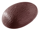 Chocolate World CW1282 Chocolate mould egg trunk 87 mm