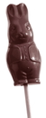 Chocolate World CW1299 Chocolate mould lollypop hare