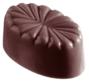 Chocolate World CW1335 Chocolate mould french oval
