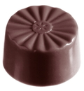 Chocolate World CW1336 Chocolate mould french round