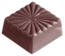 Chocolate World CW1337 Chocolate mould french carre
