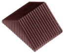 Chocolate World CW1369 Chocolate mould striped prisma