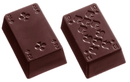 Chocolate World CW1371 Chocolate mould Playing cards 18 fig. (part 1)