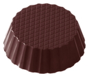 Chocolate World CW1378 Chocolate mould cup round petit four
