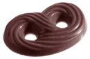 Chocolate World CW1380 Chocolate mould pretzel