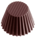 Chocolate World CW1387 Chocolate mould cuvet ribbed