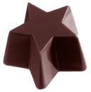 Chocolate World CW1390 Chocolate mould star bouche