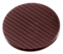 Chocolate World CW1391 Chocolate mould caraque roundel Ø 33 mm