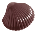 Chocolate World CW1400 Chocolate mould small shell