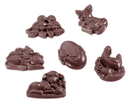 Chocolate World CW1405 Chocolate mould Easter decoration 6 fig.