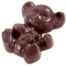 Chocolate World CW1449 Chocolate mould bear caraque