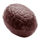 Chocolate World CW1452 Chocolate mould egg kroko oval