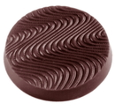 Chocolate World CW1456 Chocolate mould disc Ø 40 mm