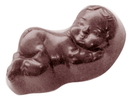 Chocolate World CW1457 Chocolate mould baby nanda
