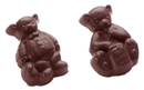 Chocolate World CW1463 Chocolate mould two bears 2 fig.