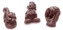 Chocolate World CW1464 Chocolate mould belgian circus 3 fig.