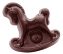 Chocolate World CW1465 Chocolate mould rocking horse