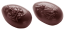 Chocolate World CW1472 Chocolate mould egg family 73 mm 2 fig.