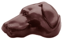 Chocolate World CW1476 Chocolate mould dog head