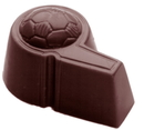 Chocolate World CW1477 Chocolate mould football whistle