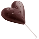 Chocolate World CW1480 Chocolate mould lollypop heart